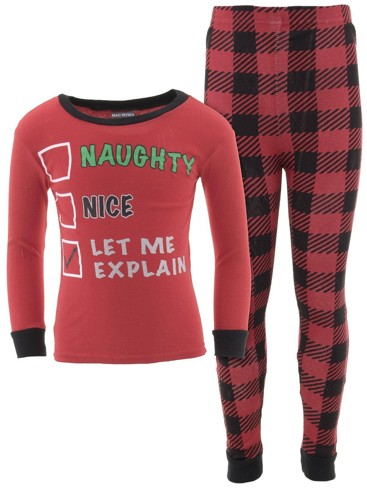 MacHenry Boys Let Me Explain Cotton Pajamas