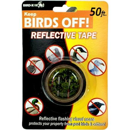 (Bird-X Bird Scare Tape, 50', Red Mylar)