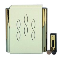 Carlon Wireless Battery Chime High Quality Sound White : Wireless Door Chimes