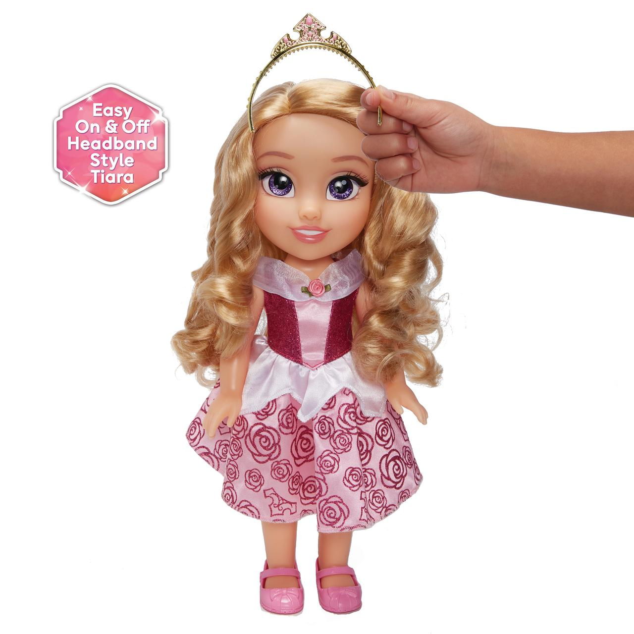 """Disney Princess My Friend Aurora Doll 14/"""" Tall with Removable Outfit and Tiara"""