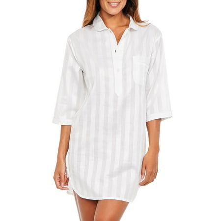 Bodas - Bodas Womens Night Shirts Cotton Nightwear nightshirt - Walmart.com c9b153bfd
