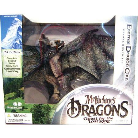 (McFarlane Dragons Series 2 Eternal Dragon Clan Action Figure)
