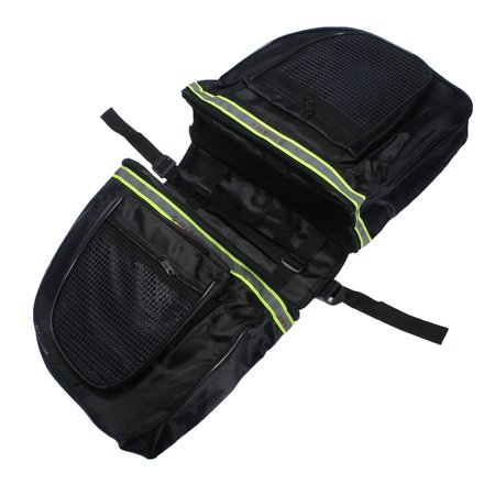 25L Bicycle Double Side Waterproof Pannier Rear Seat Bag Bike Pouch Saddle Bag Cycling Accessory (Best Cycling Saddle Bag)