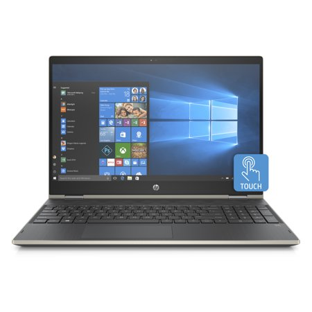 - HP Pavilion 15-cr0053wm X360 Touch Convertible Laptop, Intel Core i5-8250U Processor; 4GB SDRAM Memory, 16GB Intel Optane Memory, 1TB Hard Drive, Pale Gold