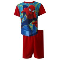 Marvel Comics Spiderman In Action Toddler Pajamas