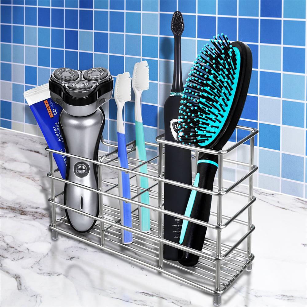 WeGuard Upgraded Toothbrush Holder Stainless Steel Eletronic Toothbrush Holder