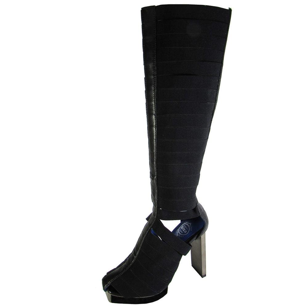 Jeffrey Campbell Womens Acosta Knee High Boot Shoe