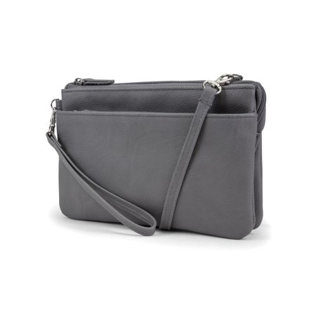 0fcc366b4c49 MUNDI Brady Anti Theft Womens Cell Phone Crossoby Bag RFID Purse Wallet
