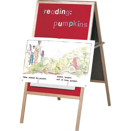 Best-Rite Magnetic Flannel & Dry Erase Easel.