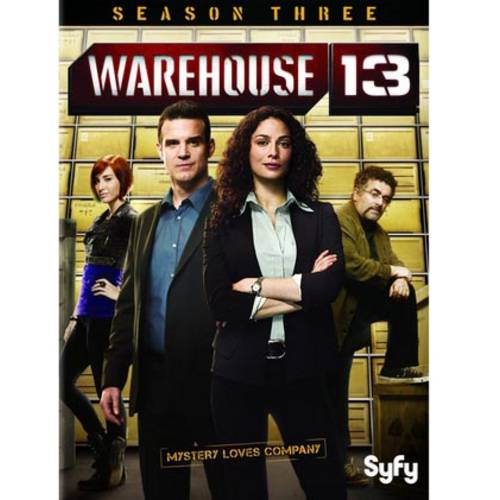WAREHOUSE 13-SEASON THREE (DVD) (3DISCS/ENG SDH/WS/1.78:1)
