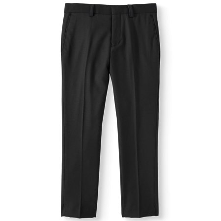 English Laundry Slim Fit Rayon Flat Front Dress Pants (Big (Eton Boys Dress)