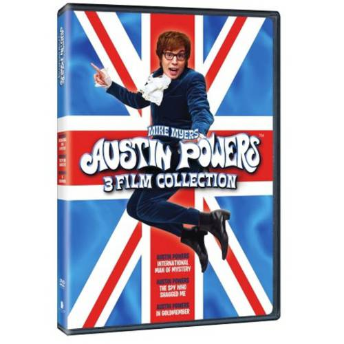 Austin Powers Collection: International Man Of Mystery   The Spy Who Shagged Me   Goldmember (Walmart... by WARNER HOME ENTERTAINMENT
