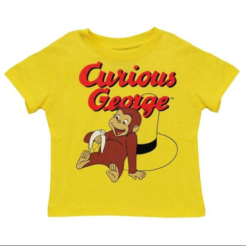 Vintage Curious George Playful Toddler T-Shirt