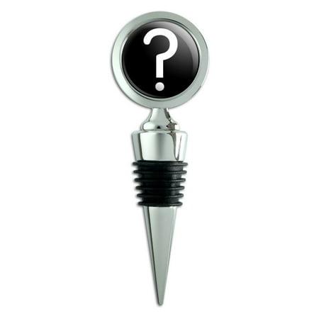 Mystery Question Mark Wine Bottle Stopper