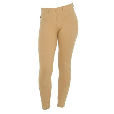 Sport Knee Patch Breeches - Saxon Knee Patch Pull-On Breeches for Women