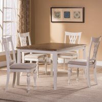 Hillsdale Bayberry / Embassy 5-Piece Rectangle Dining Set In White