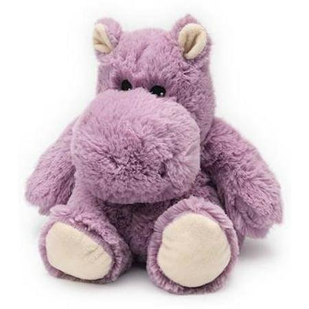 HIPPO JUNIOR WARMIES Cozy Plush Heatable Lavender Scented Stuffed Animal for $<!---->