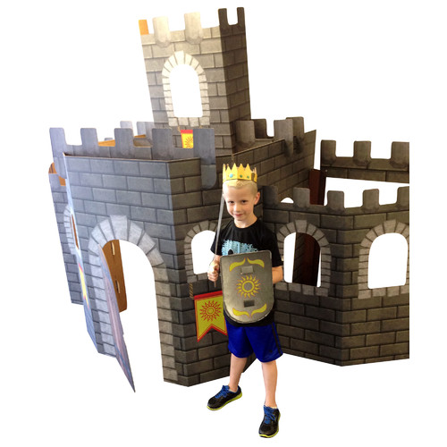 Advanced Graphics Large 3D Castle Cardboard Standup