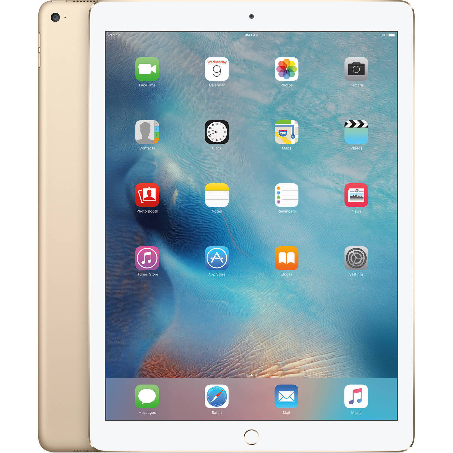 "Refurbished Apple iPad Pro 128GB, Wi-Fi + Cellular Unlocked 12.9"" - Gold (ML3Q2LL/A)"