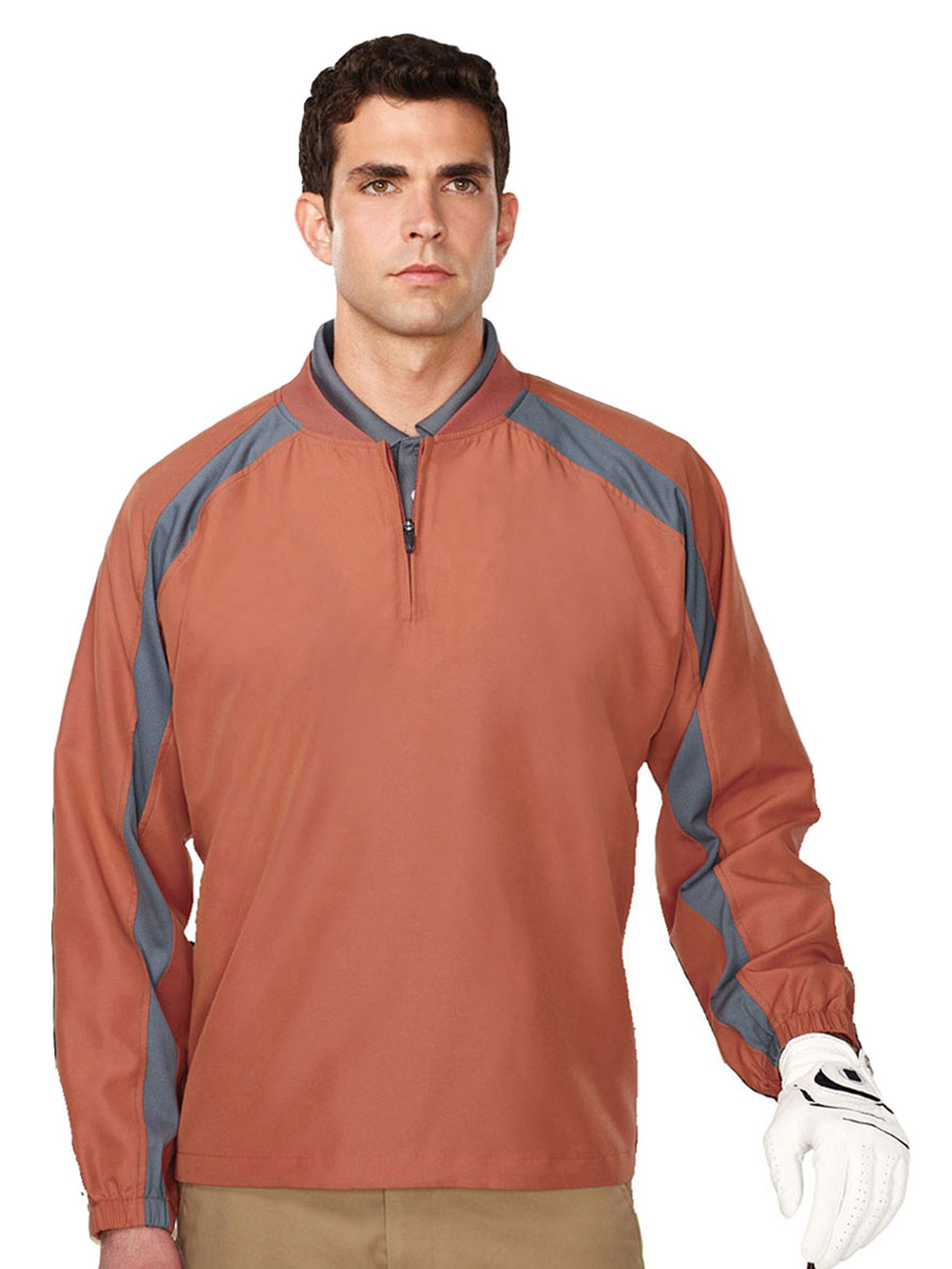 Tri-Mountain Men's Water Resistant Shell Windshirt