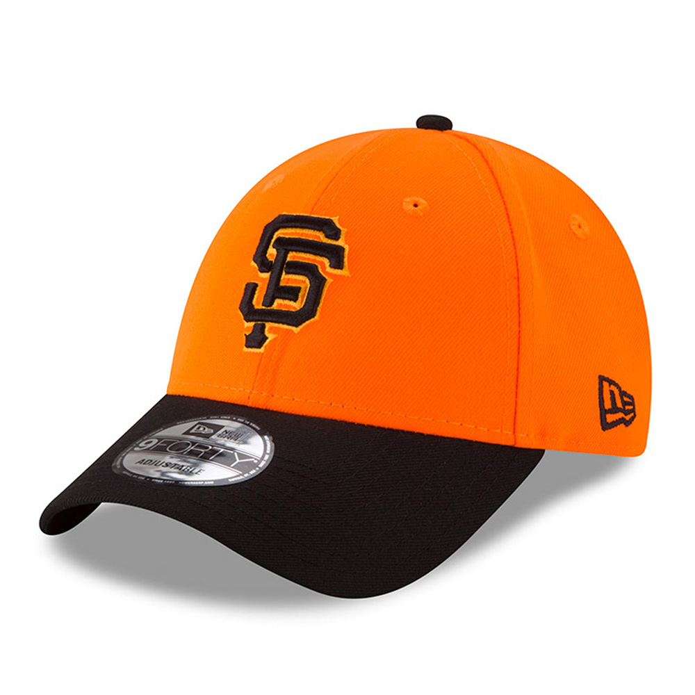 San Francisco Giants New Era 2018 Players' Weekend 9FORTY Adjustable Hat - Orange/Black - OSFA