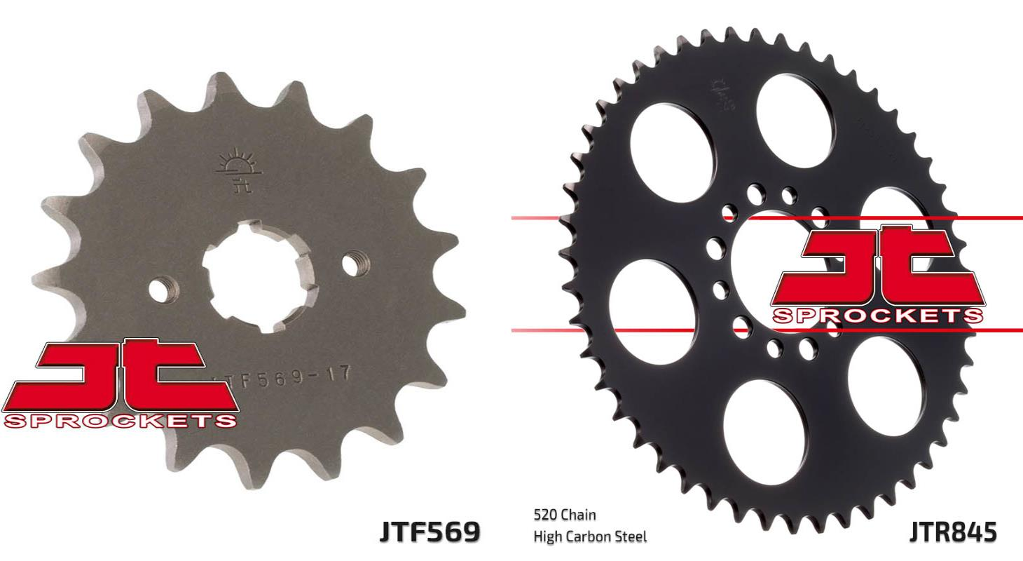 JT 48 Tooth Steel Rear Sprocket 520 Pitch JTR845.48