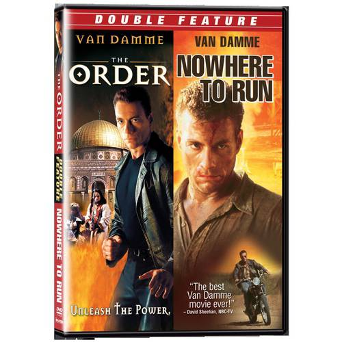 Jean-Claude Van Damme Double Feature: The Order / Nowhere To Run (Full Frame)