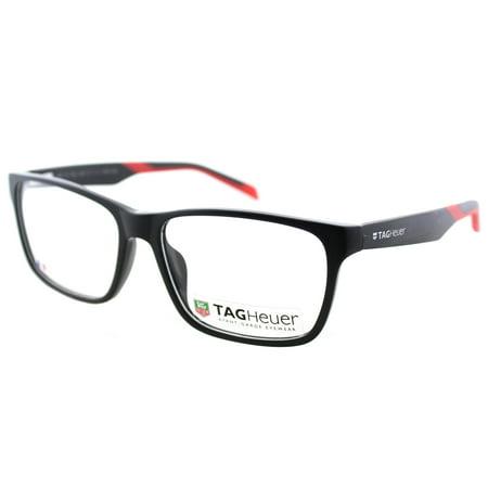 - TAG Heuer B-Urban TAG552 005 57mm Unisex Rectangle Eyeglasses