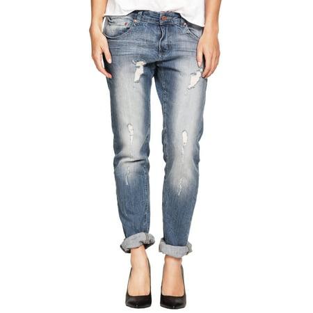 Ellos Plus Size Boyfriend Jeans (Best Boyfriend Jeans For Pear Shaped)