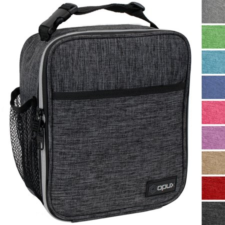 OPUX Premium Insulated Lunch Box | Soft Leakproof School Lunch Bag for Kids, Boys, Girls | Durable Reusable Work Lunch Pail Cooler for Adult Men, Women, Office – Fits 6 Cans