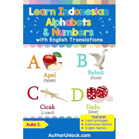Learn Indonesian Alphabets & Numbers - eBook