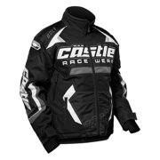 Castle X Racewear Bolt G3 Mens Snowmobile Jacket Black
