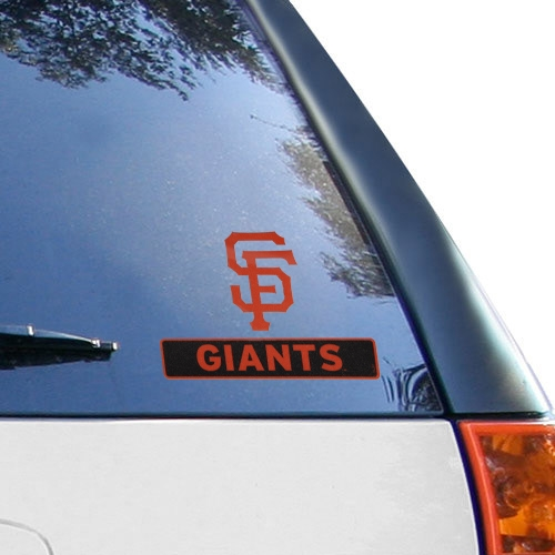 WinCraft San Francisco Giants 4'' x 5'' Perfect Cut Decal - No Size
