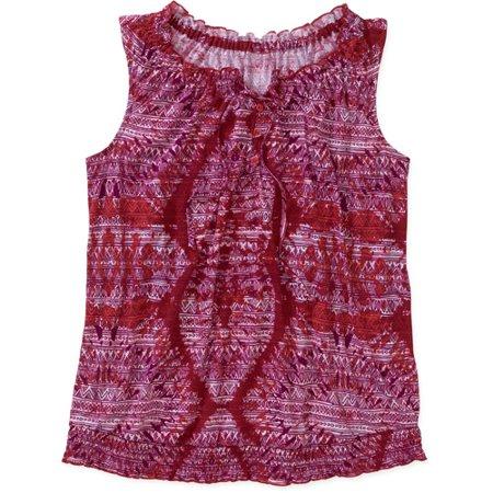 cceabb8f29676 Faded Glory - Faded Glory Women s Plus-Size Knit Peasant Tank ...