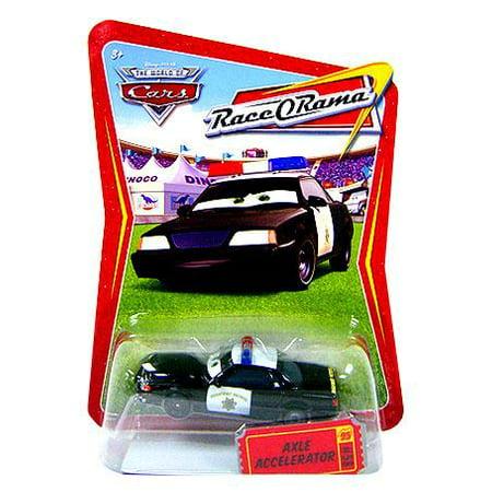 Disney Cars Race-O-Rama Axle Accelerator Diecast - Diecast Pedal Car