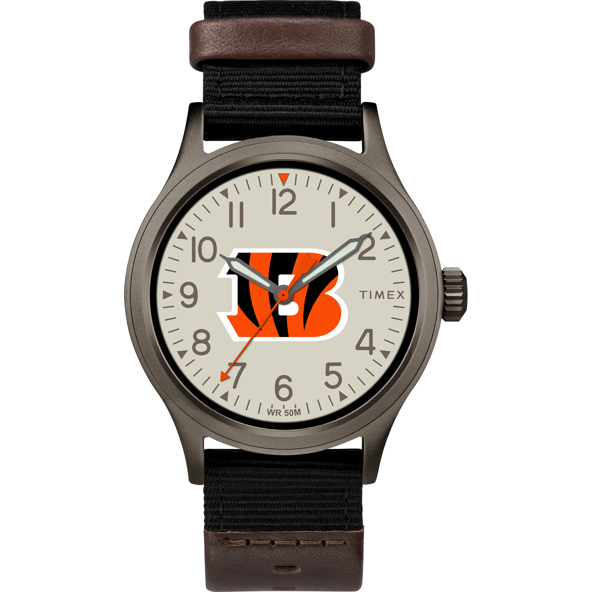 Timex - NFL Tribute Collection Clutch Men's Watch, Cincinnati Bengals