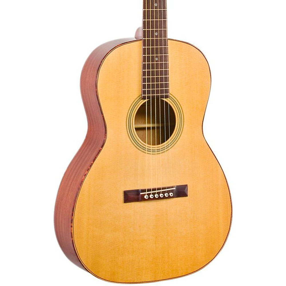 Recording King ROS-10 Solid Top 12-Fret OOO Acoustic Guitar, Natural