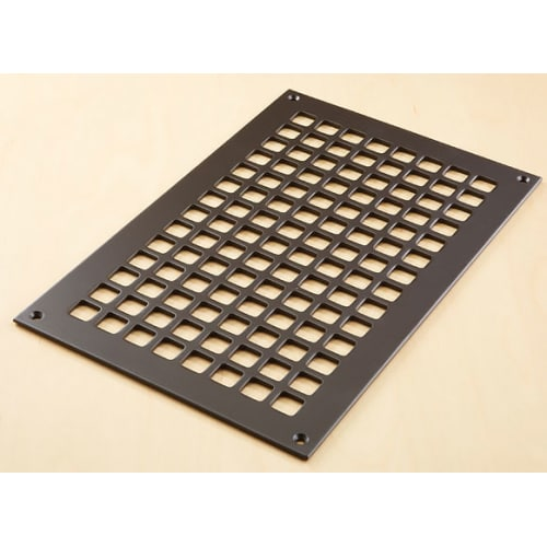 "Reggio Registers G1016-SH Grid Series 14"" x 8"" Grille with Mounting Holes"