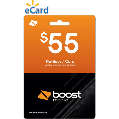 Boost Web Direct Load $55 (Email Delivery)