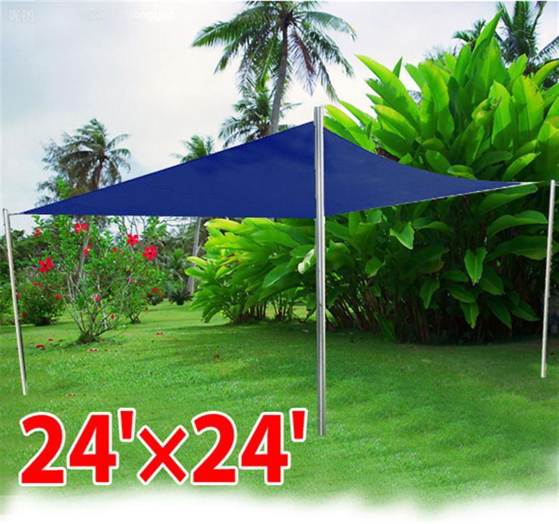 Aleko Rectangle Sun Shade Sail Canopy Tent Replacement, 20u0027 X 16u0027, Beige  Color   Walmart.com
