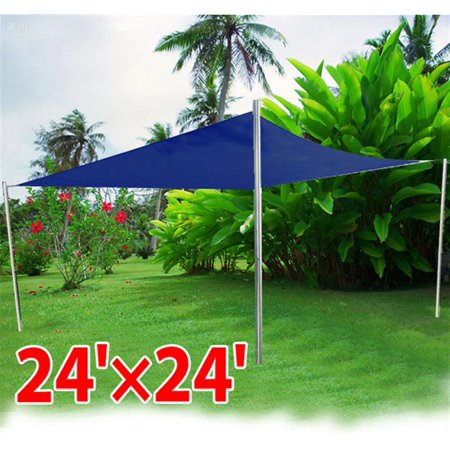 1sale outsunny 24 39 square outdoor patio sun shade sail for Shade sail cost