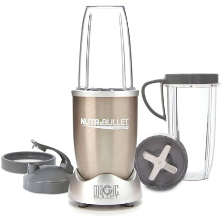 NutriBullet Pro 900 Kitchen Blender/Mixer NutriBullet Pro 900: Magic Bullet nutribullet 9-piece setTransform ordinary food into super food and add years to your lifeBusts open seedsCracks through stemsShreds tough skinNutriBullet blender in silver has super-powerful 900W motorDimensions: 7.8 W x 13.98 D x 16.34 H1-year limited warranty9-piece model# NB9-0901It dies all the work and is easy to operateMakes any fruits, vegetables, nuts and more easy to digestIncludes a sharp and precise blade system