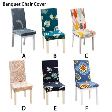 Stretch Dining Room Chair Slipcovers Elastic Stretchy Elastic