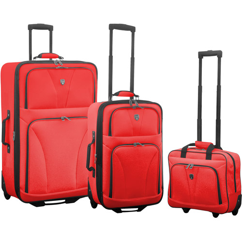 Travelers Club Bowman 3-Piece Expandable Value Luggage Set