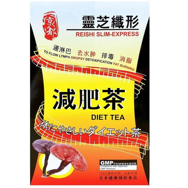 japán lingzhi fogyókúrás tea