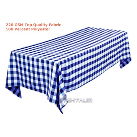 Cheap Red And White Checkered Tablecloths (TEKTRUM 60 X 84 INCH 60