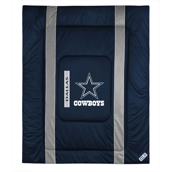 Sports Coverage NFL Dallas Cowboys Comforter Sidelines Fo...