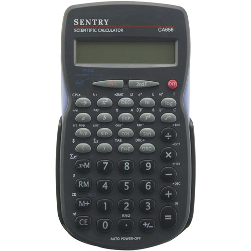Sentry 56-Function Scientific Calculator, Black