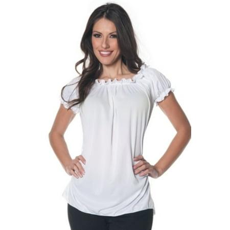 77b7c2e84a7579 Underwraps Costumes - Gypsy Blouse Underwraps Costumes 28324 White -  Walmart.com