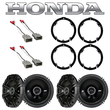 Fits Honda Civic 2006-2011 Factory Speaker Replacement Kicker (2) DSC65 Package Honda Fit Speakers